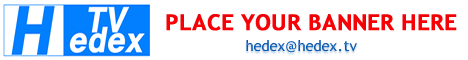 Hedex Banner, advertise on HedexTV