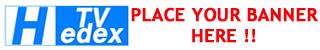 Hedex banner, player banner, advertise on HedexTV