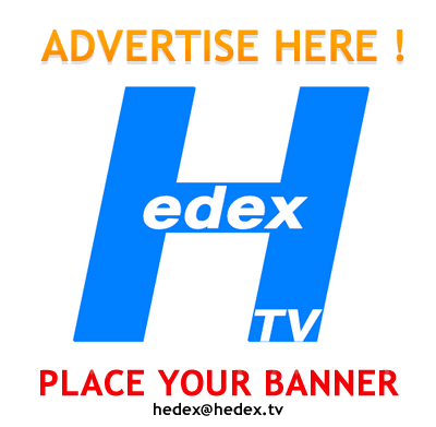Hedex banner, Side banner, advertise on HedexTV